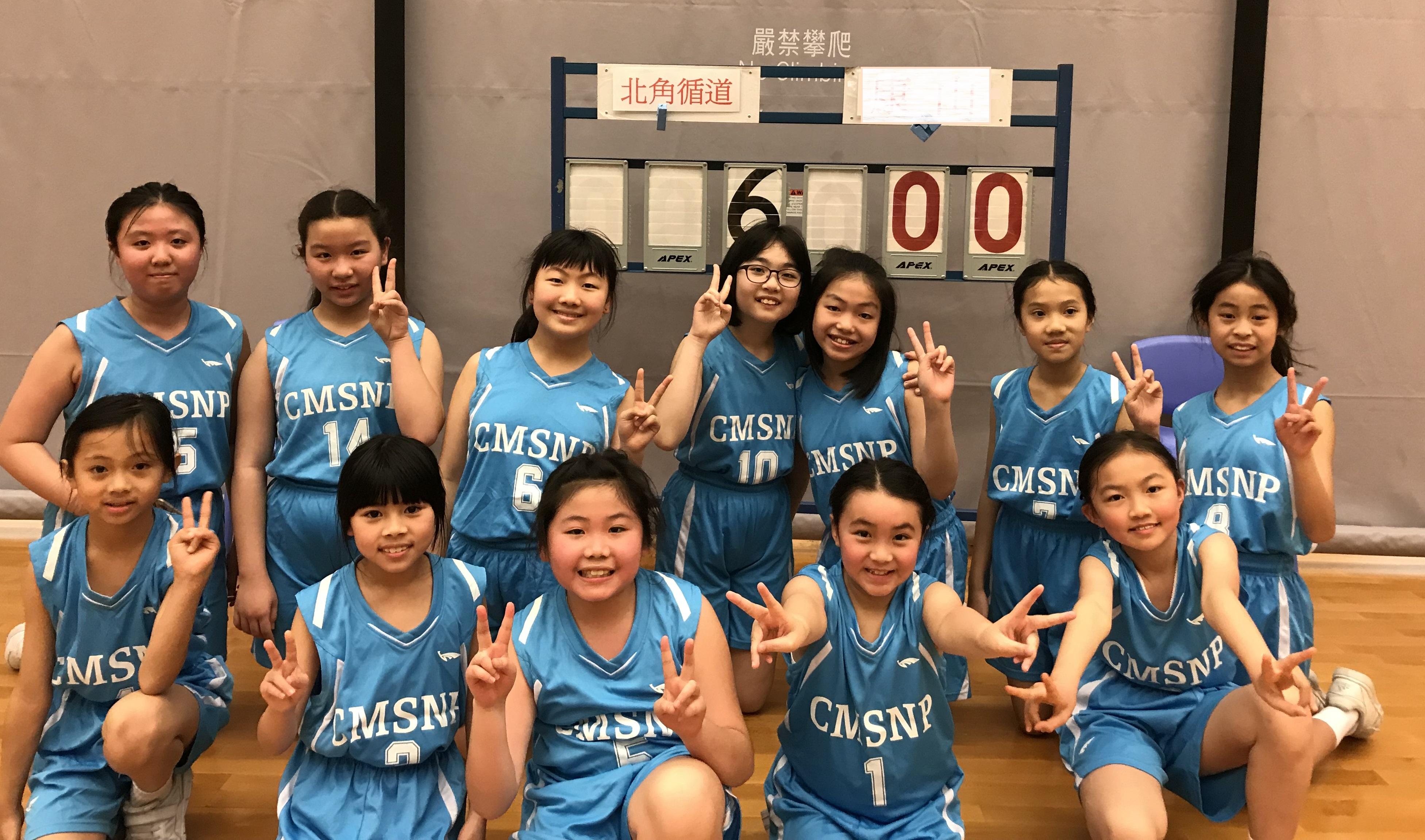 女子籃球校隊